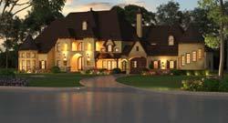 European Style House Plans Plan: 63-475