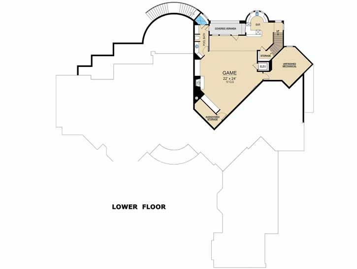Lower Floor Plan: 63-554