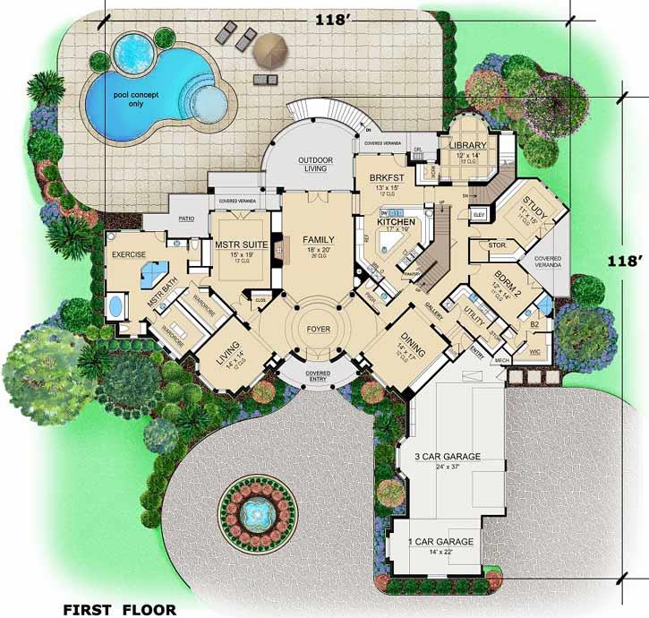 Main Floor Plan: 63-554