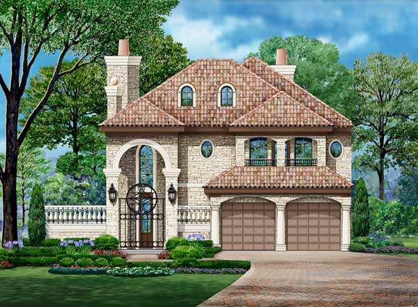 European Style Floor Plans 63-560
