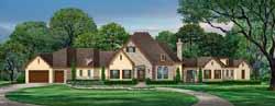European Style House Plans Plan: 63-565
