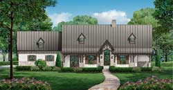 Mountain-or-Rustic Style Floor Plans Plan: 63-569