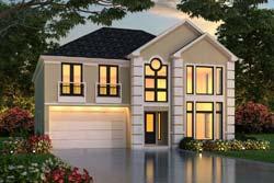 Mediterranean Style House Plans Plan: 63-573