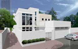 Modern Style Floor Plans Plan: 63-582