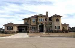 Tuscan Style Home Design Plan: 63-639
