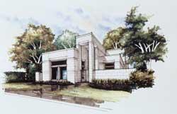 Modern Style House Plans Plan: 63-653