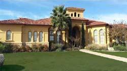 Italian Style House Plans Plan: 63-675