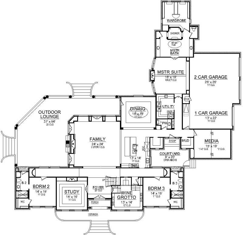 Main Floor Plan: 63-678