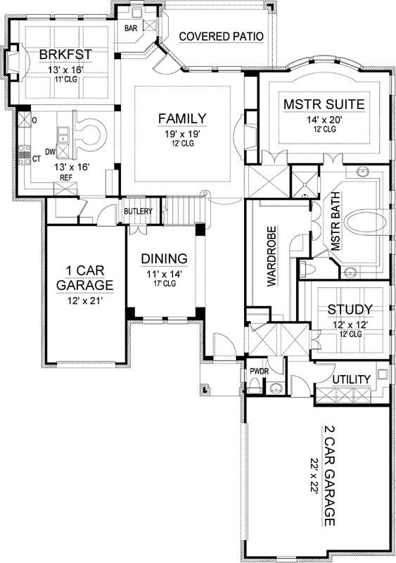 Main Floor Plan: 63-679