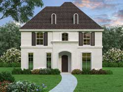 Colonial Style House Plans Plan: 63-692