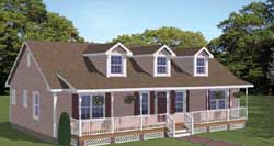 Southern Style House Plans Plan: 64-144