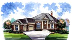 Southern Style House Plans Plan: 66-110