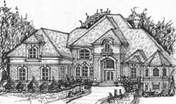 European Style House Plans 66-114