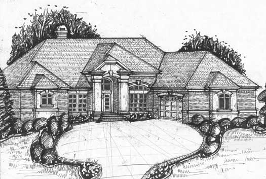 Traditional Style Floor Plans Plan: 66-137