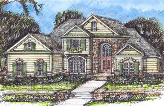 Traditional Style House Plans Plan: 66-148