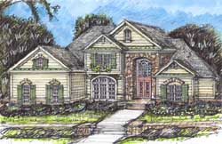 Traditional Style Floor Plans Plan: 66-148