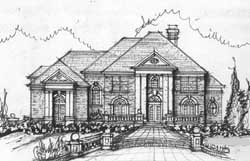 Southern-Colonial Style House Plans Plan: 66-176