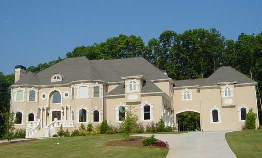 Mediterranean Style Home Design Plan: 66-177