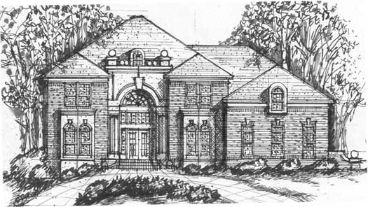 European Style House Plans 66-211