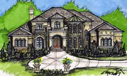 European Style Floor Plans 66-265