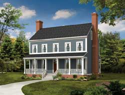 Farm Style Floor Plans Plan: 68-115