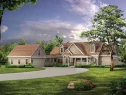 Country Style House Plans Plan: 68-117