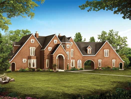 French-country Style House Plans Plan: 68-120