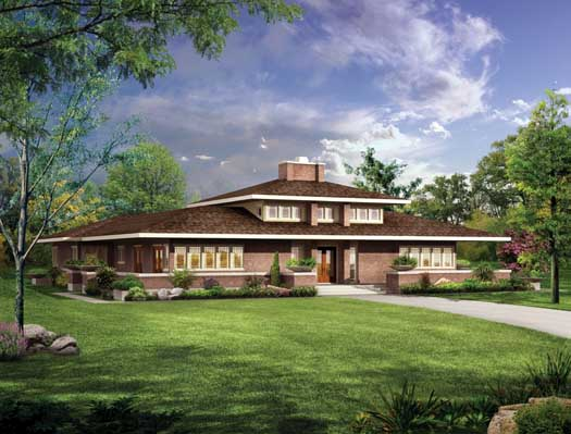 Contemporary Style Floor Plans Plan: 68-124