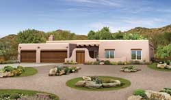Santa-Fe Style House Plans Plan: 68-126