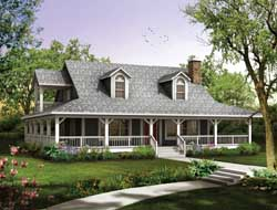 Farm Style House Plans 68-134