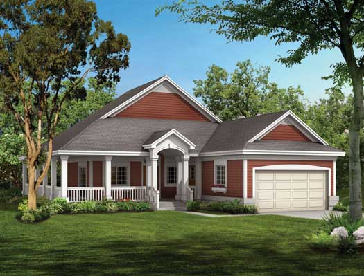 Southern Style House Plans Plan: 68-136