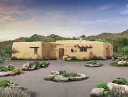 Santa-Fe Style House Plans Plan: 68-139
