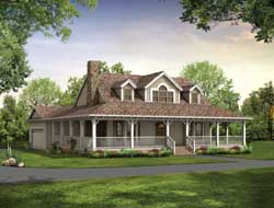 Farm Style House Plans 68-141