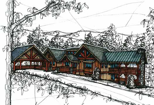 Mountain-or-rustic Style House Plans Plan: 69-905