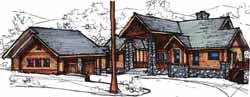 Craftsman Style House Plans Plan: 69-909