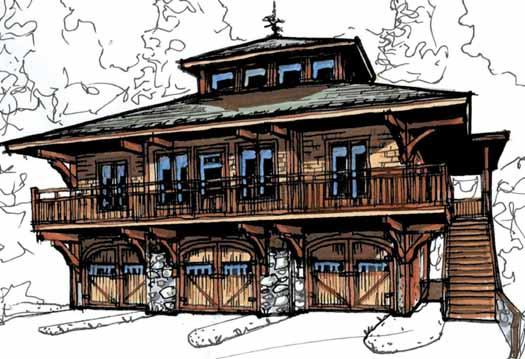 Modern Style House Plans Plan: 69-914