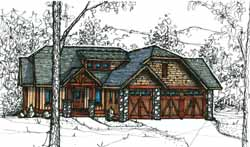 Craftsman Style House Plans 69-918