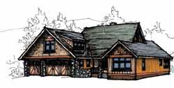 Craftsman Style House Plans Plan: 69-919