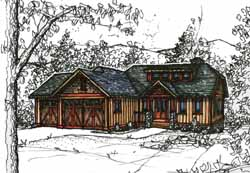 Craftsman Style House Plans 69-920