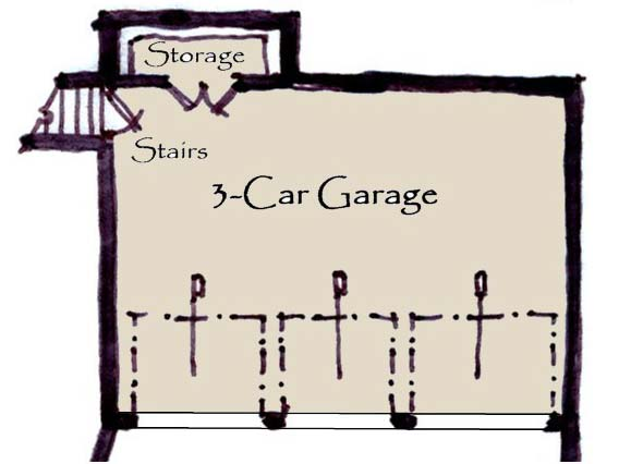 Lower Floor Plan: 69-932