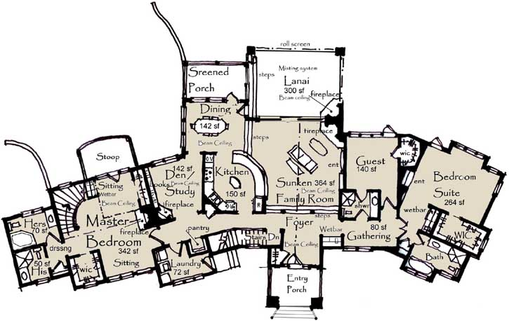 Main Floor Plan: 69-932
