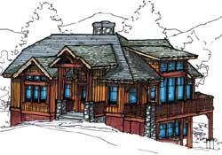 Craftsman Style Floor Plans Plan: 69-937