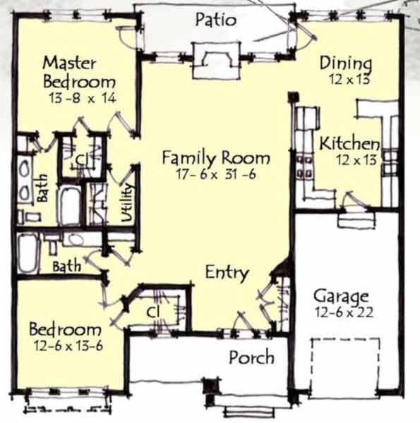 Main Floor Plan: 69-938