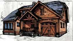 Craftsman Style House Plans Plan: 69-938
