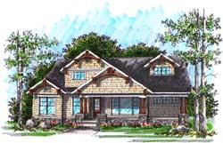 Craftsman Style House Plans Plan: 7-1018