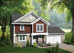 Traditional Style House Plans Plan: 7-1019