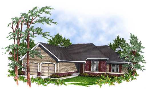 Traditional Style Floor Plans Plan: 7-102