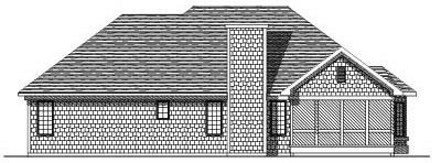 Rear Elevation Plan: 7-102