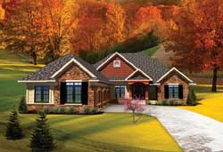 Traditional Style Floor Plans 7-1027