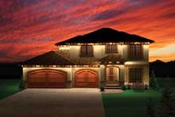 Prairie Style Home Design Plan: 7-1029